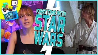 Star Wars First Time Reaction | All Ages of Geek