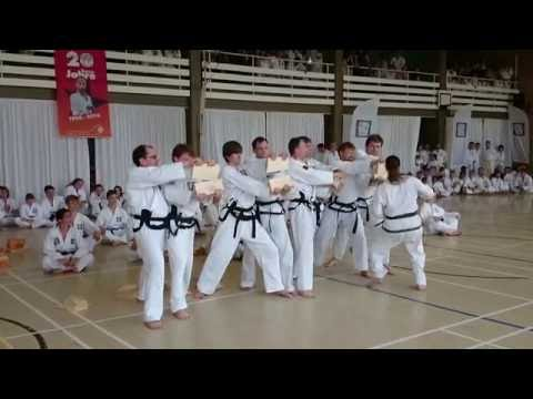 Taekwon-Do Center Dresden - Sigrid Kraft Prüfung zum 5. Dan