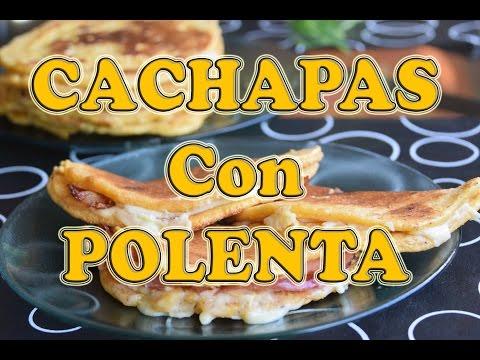 Deliciosas Cachapas Venezolanas con Polenta