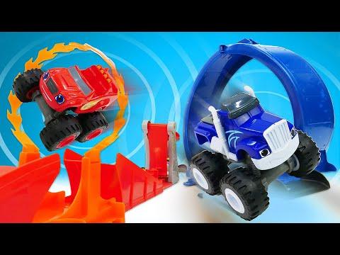 Видео про машинки и гонки из мультфильмов. Чудо машинки Вспыш и Крушила на трассе. Время быть героем