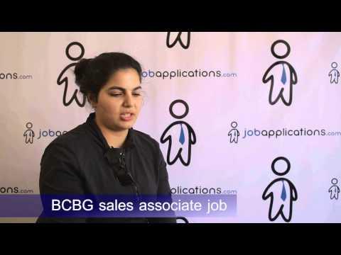 BCBG Interview - Sales Associate