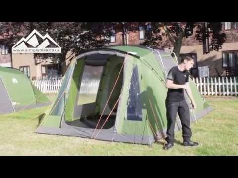 Coleman Vespucci 4 Tent - www.simplyhike.co.uk