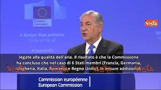 Smog, la Commissione Europea deferisce Italia, Francia e Germania alla Corte UE
