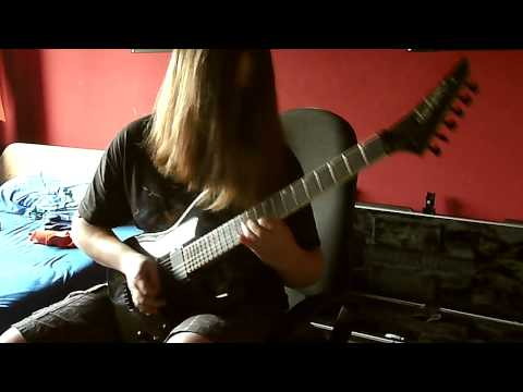 Megadeth - Dialectic Chaos Guitar Cover (with ALL SOLOS)