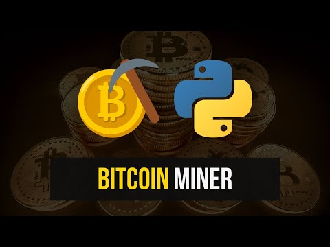 Simple Bitcoin Miner In Python