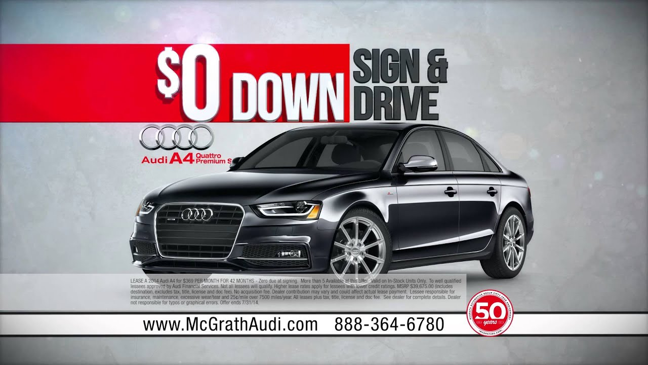 McGrath Summer Of Audi YouTube - Mcgrath audi