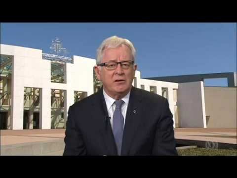 Australian Trade Minister Andrew Robb goes off script & talks about spying on Indonesia