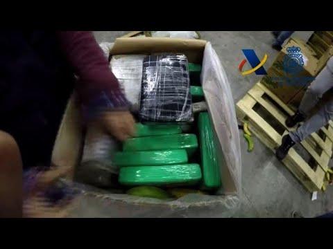 Espagne: saisie record de 8,7 tonnes de cocaïne de Colombie