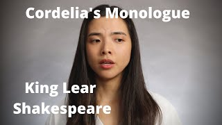 Cordelia's Monologue from King Lear