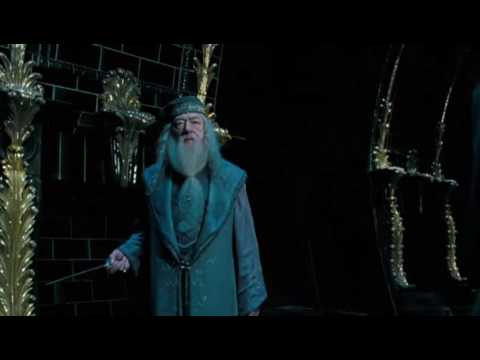 Albus Dumbledore vs Voldemort in the Ministry of magic [ Harry Potter and the Order of Phoenix]