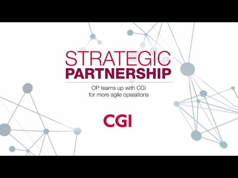 OP teams up with CGI for more agile operations
