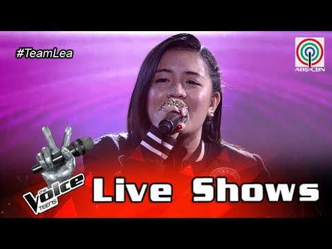 The Voice Teens Philippines Live Show: Patricia Luna - Fix You