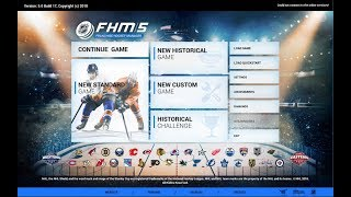 An Introduction to FHM 5 (Franchise Hockey Manager 5)