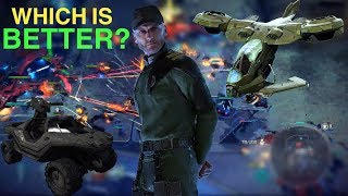 Halo Wars 2: As UNSC, are Warthogs better than Hornets in Tier 2?
