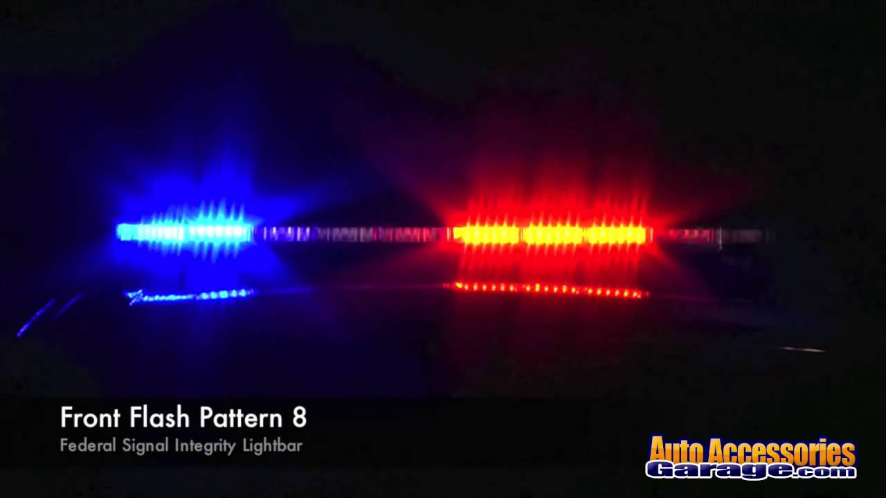 Federal signal integrity led light bar youtube federal signal integrity led light bar aloadofball Image collections