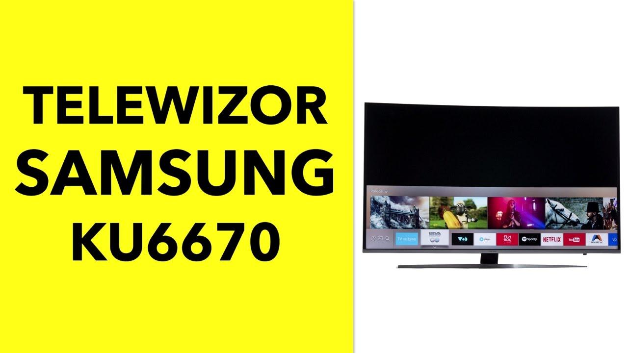 Telewizor Samsung KU6670  dane techniczne  RTV EURO AGD