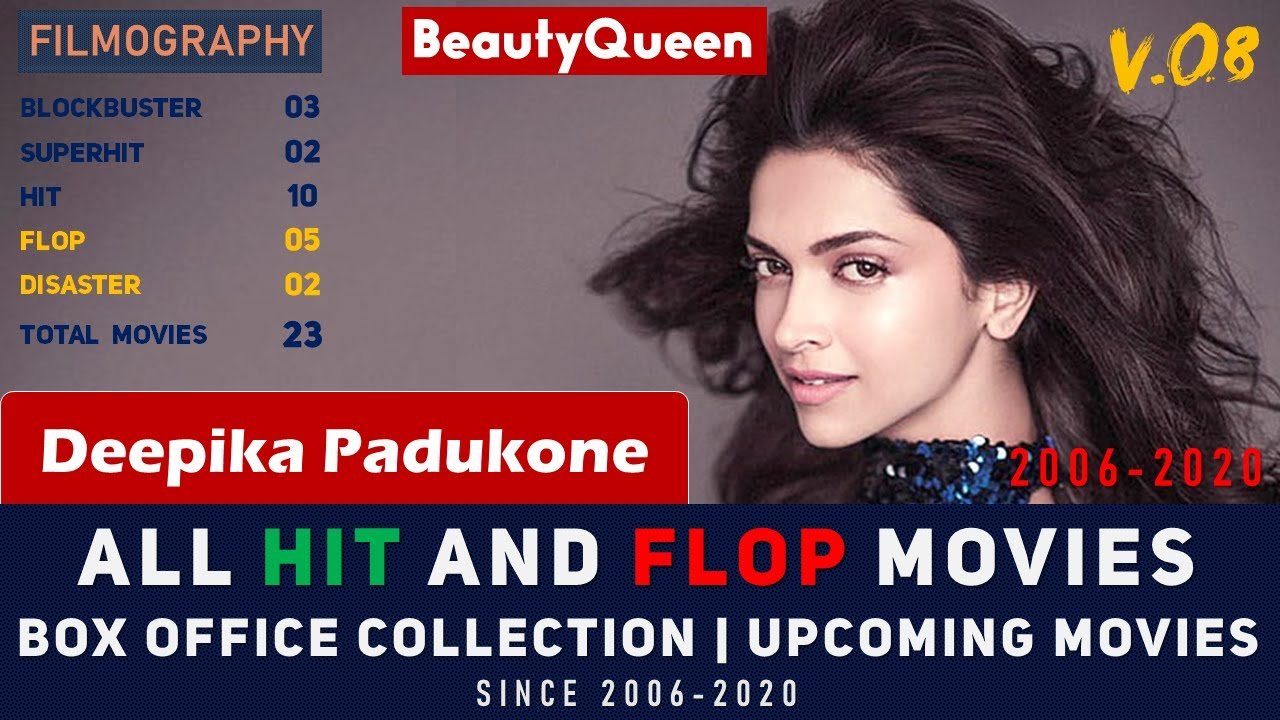 Deepika Padukone Hit And Flop Movies (2006-2020) | Movies ...