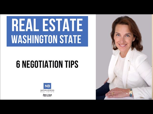Negotiation tips for home buyers in Washington State [Sept. 2020]