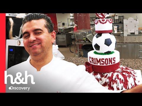 Buddy faz um bolo para a gincana escolar da filha | Cake Boss | Discovery H&H Brasil