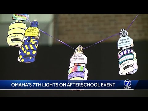 Omaha's 7th lights on afterschool event