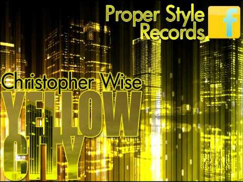 Christopher Wise aka CG The Prodigy - Yellow City