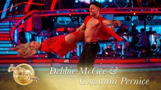 Judges' Pick: Debbie McGee & Giovanni Pernice Salsa to Can't Take My Eyes Off You - Final 2017