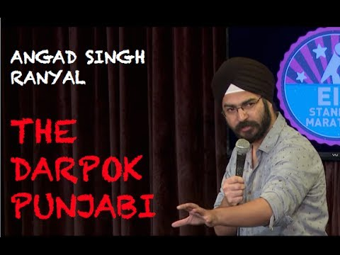 EIC: Angad Singh Ranyal- The Scared Punjabi