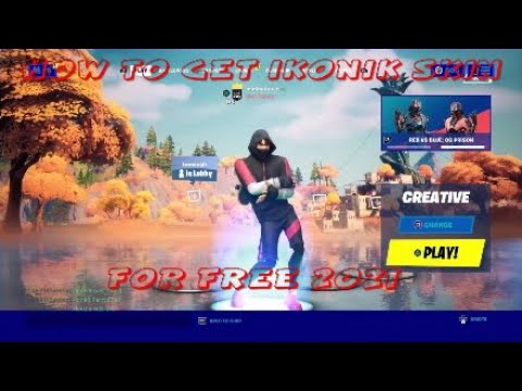 Download HOW TO GET FREE IKONIK SKIN IN FORTNIE *UPDATED WORKING 2021*