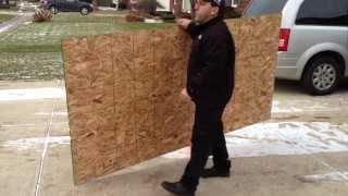 Panel Pal - Drywall Door  Plywood Panel Window Dolly Cart $59.95