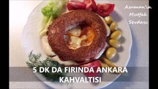 5 Dk Da Fırında Ankara Kahvaltısı - Kolay Kahvaltı Tarifi - 4 Lezzet Bir Arada