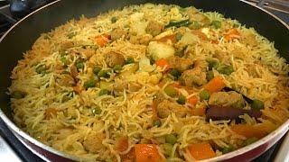 Vegetable Tehri recipe in Hindi | How to make One pot Rice recipe | Easy Veg pulao