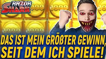 Das ist MEIN HÖCHSTER GEWINN! IN RAZOR SHARK / Freispiele und Bonus! Online Casino DEUTSCH 🇩🇪!