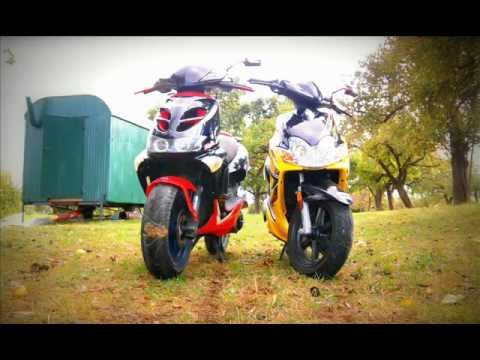 aprilia sr 50 tuning story 2012 youtube. Black Bedroom Furniture Sets. Home Design Ideas
