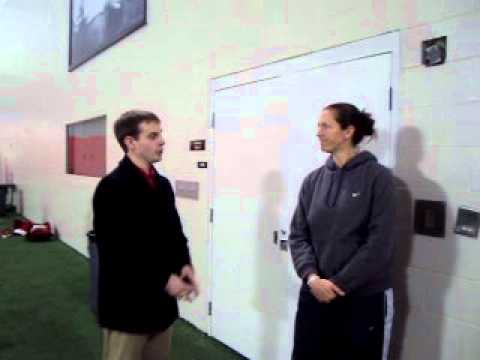 Interview with Ohio State softball pitching coach Danielle Henderson