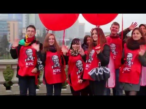 Торжественное открытие первого ресторана KFC в Беларуси