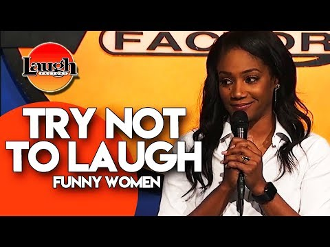 TRY NOT TO LAUGH   Funny Women   Stand-Up Comedy