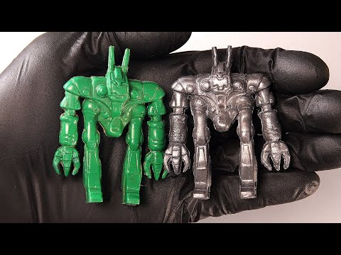 From plastic to COLD-CAST steel, Mr. Hong Hong Robot. (NO MUSIC)