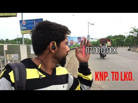 kanpur to lucknow | my way road trip by bike| part 1