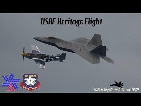 Canadian International Air Show 2017- USAF Heritage Flight