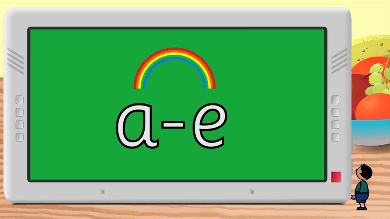 Phonics The A E Spelling Free Resource Youtube