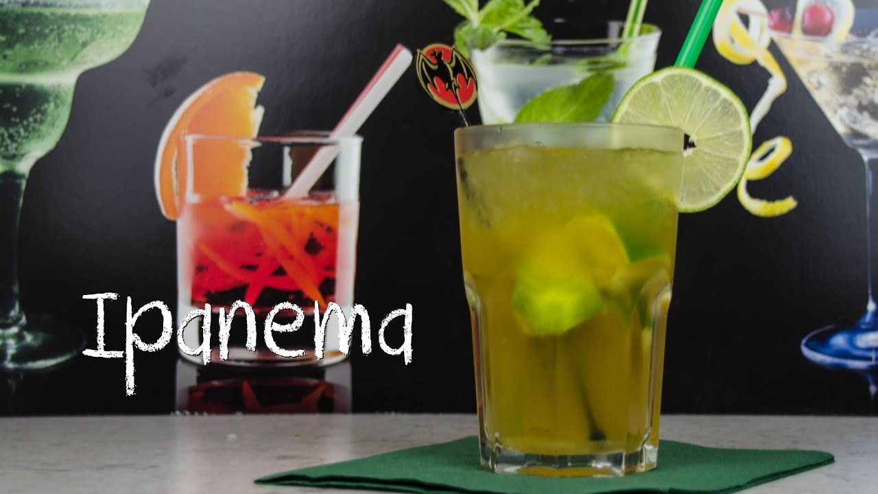 Caipirinha cocktail wallpaper  Ipanema - Die alkoholfreie Caipirinha Variante - YouTube