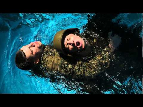 US. Marine Survival and Combat-Training in Water