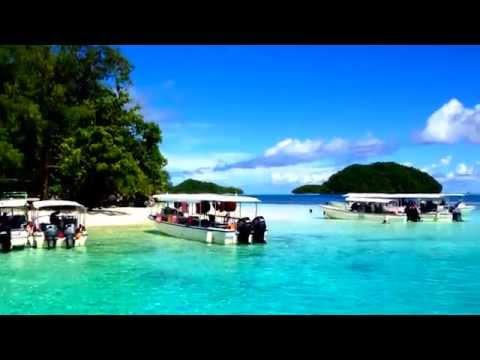 Beautiful landscape of Palau