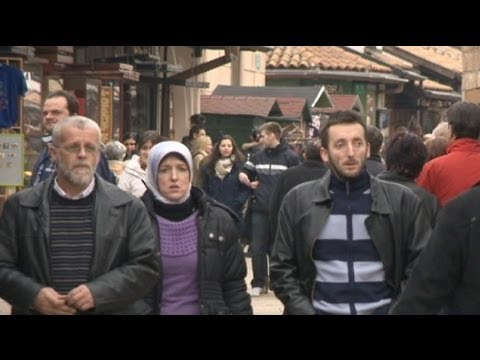 euronews reporter - Sarajevo - a city under siege from its past?