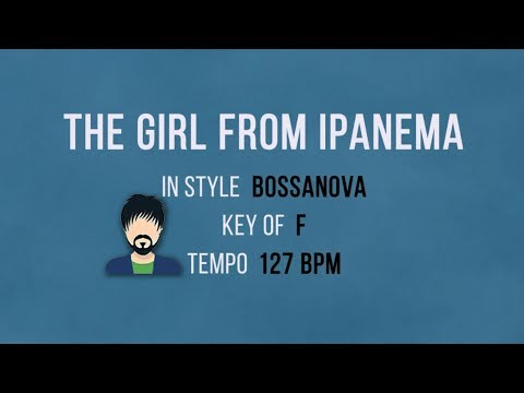 The Girl From Ipanema - Karaoke Bossanova Style