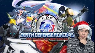 EDF EDF EDF - Earth Defense Force 4.1 (PC) Livestream and More!