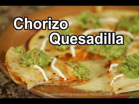 How To Make A Breakfast Quesadilla With Chorizo | Rockin Robin Cooks