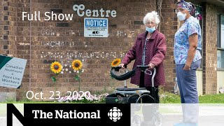 CBC News: The National | Ont. Long-Term Care COVID-19 Commission's recommendations | Oct. 23, 2020