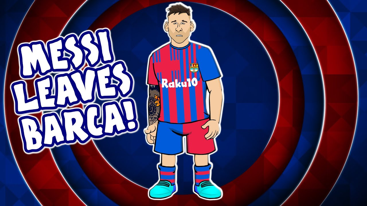 Download 😭Messi leaves Barcelona!😭 (Lionel Messi farewell song press conference)