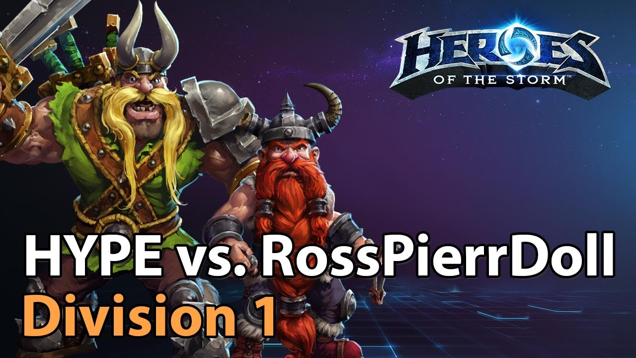 ► HYPE vs. RossPierrDoll - Division 1 HeroesLounge - Heroes of the Storm Esports